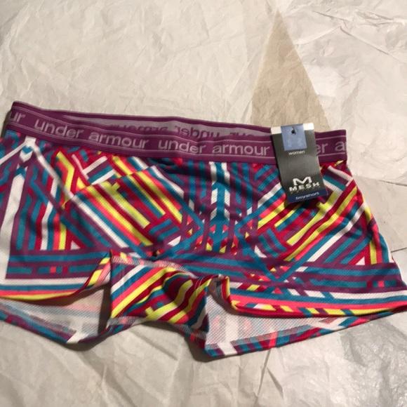Under Armour Other - NWT under armour womens underwear Mesh Boyshorts M